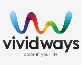 Vivid Ways Logotype