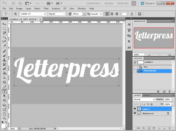 letterpress-text