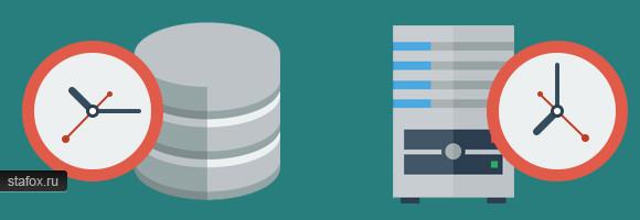 Временная зона в MySQL отличается от системной